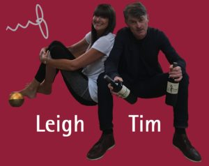Leigh & Tim at Yoga & Wine at Worth Brothers Wines Derby