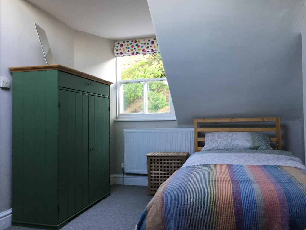 Bedroom 4 at Aberdovey holiday house rental - Hafod Arfor