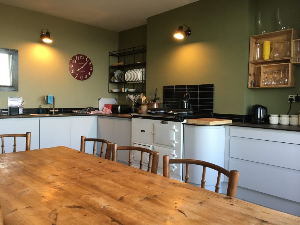 Kitchen 3 at Aberdovey Holiday House Rental - Hafod Arfor