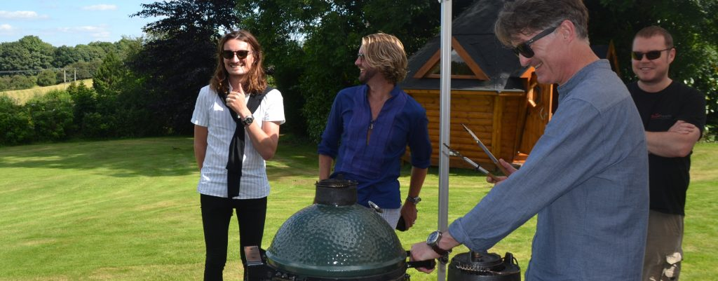 Big Green Egg Cooking Classes Outside